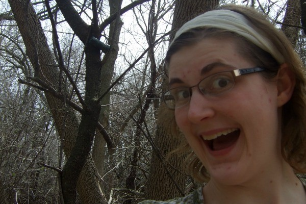 First Geocache- The Joys of Caching by Jessica Lippe