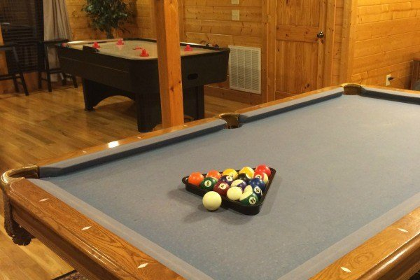 Game Room at Bella Yani- Cabin Fever Vacations