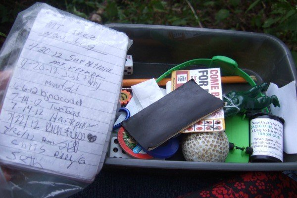 Geocache- The Joys of Geocaching by Jessica Lippe