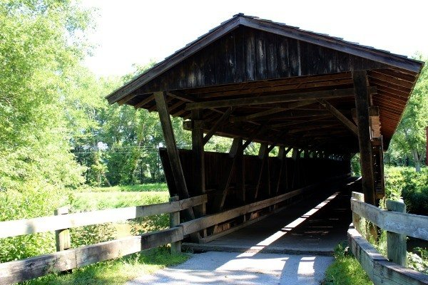 Helmick Covered Bridge is the last in Coshocton County