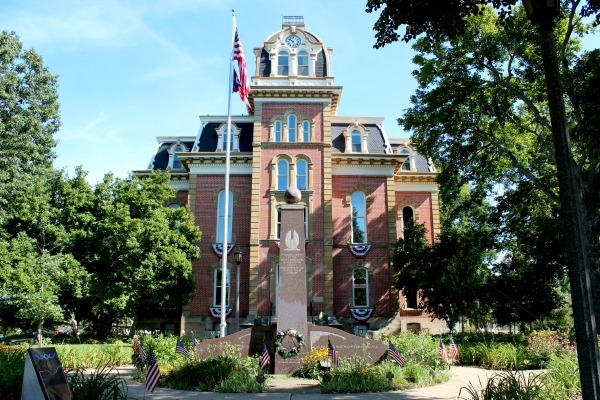 The Historic Coshocton County Courthouse