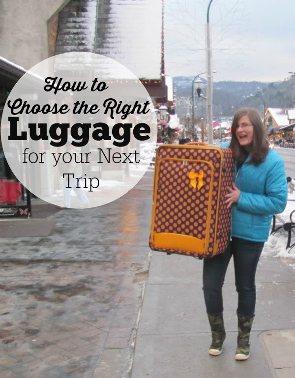 How to Choose the Right Luggage for your Next Trip