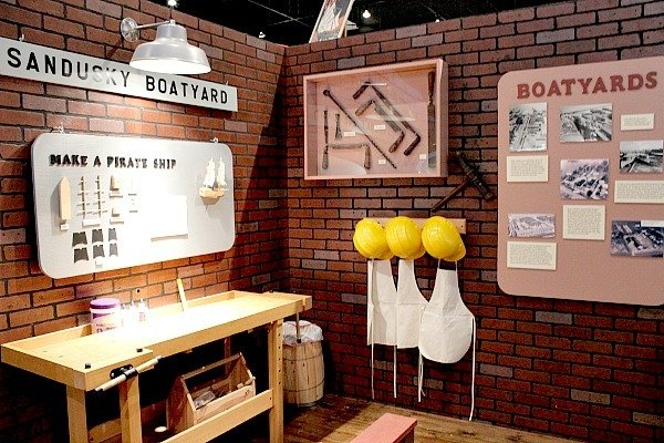 Learn about the Sandusky Boatyards and build your own ship at the Maritime Museum of Sandusky