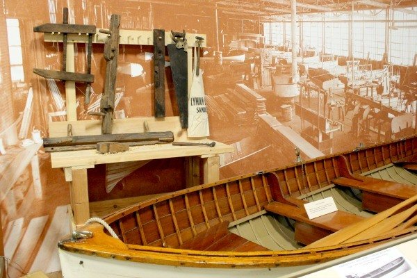 Lyman boat models can be seen on display at the Maritime Museum of Sandusky