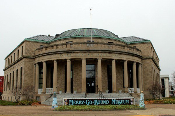 Merry-go-Round Museum in Sandusky Ohio