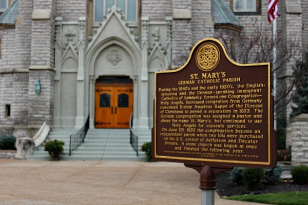 St. Mary's German Catholic Church in Sandusky Ohio