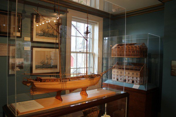 The Galpin Galleries in the Milan Museum near Sandusky, Ohio highlights the rise and fall of the Milan Canal