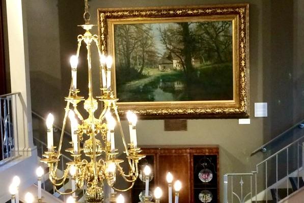 The Newton Arts Gallery at the Milan Museum near Sandusky Ohio
