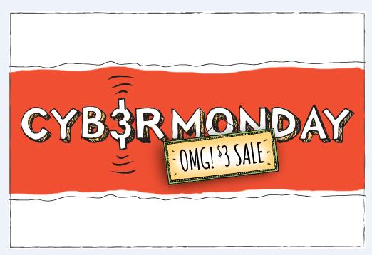 Cyber Monday $3 Deals from Restaurant.com