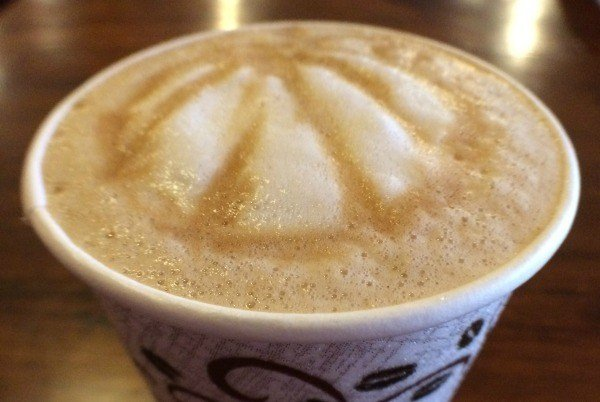Pumpkin Spice Latte at Brumby's Coffeehouse and Pizzeria in Bellville, Ohio