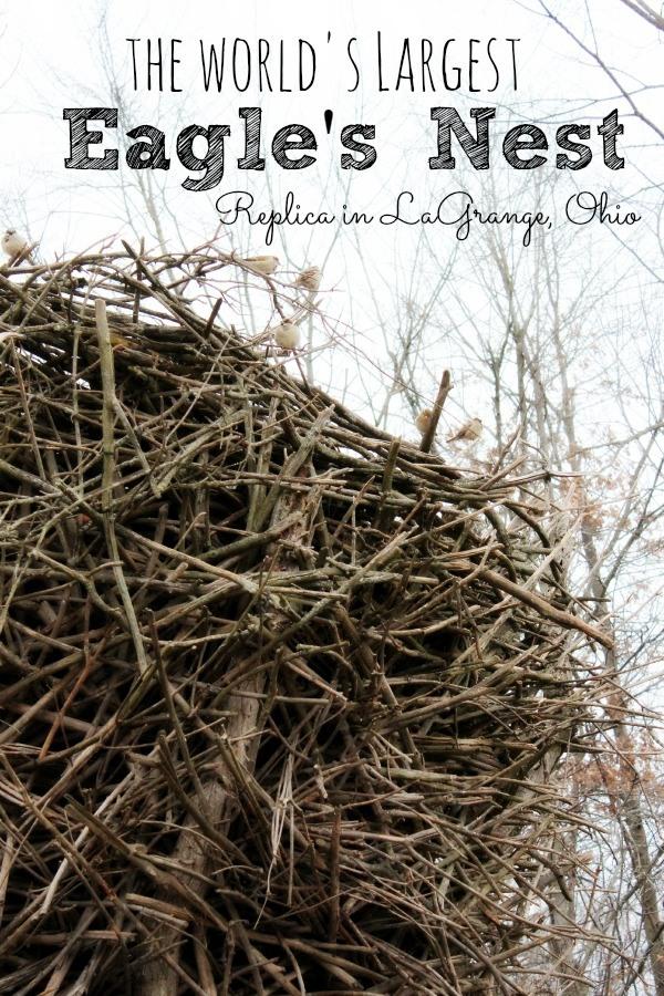 The World's Largest Eagle's Nest Replica in LaGrange Ohio