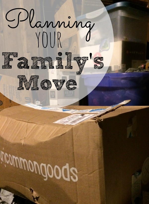 Planning your Family's Move