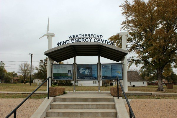 Weatherford Wind Energy Center Roadside Attraction