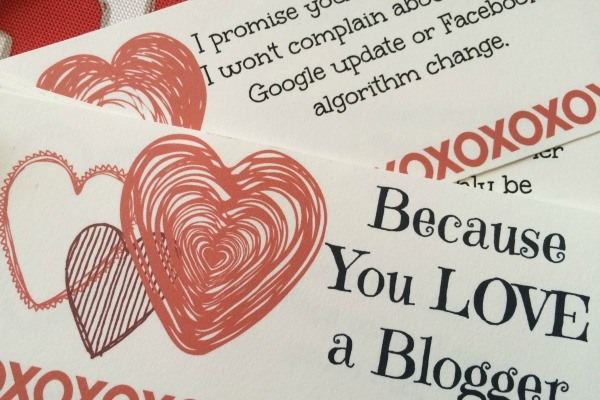 Valentine's Day coupons for bloggers to give to their significant other.
