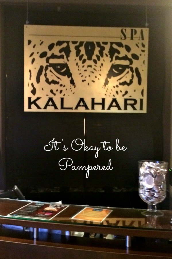 It's Okay to be Pampered- Spa Kalahari in Sandusky, Ohio
