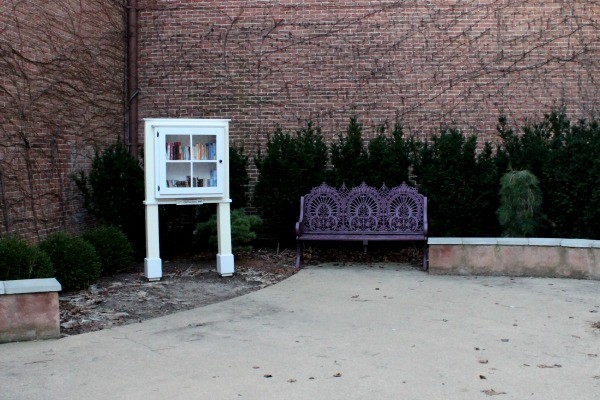 The Little Library in Wilmington, Ohio