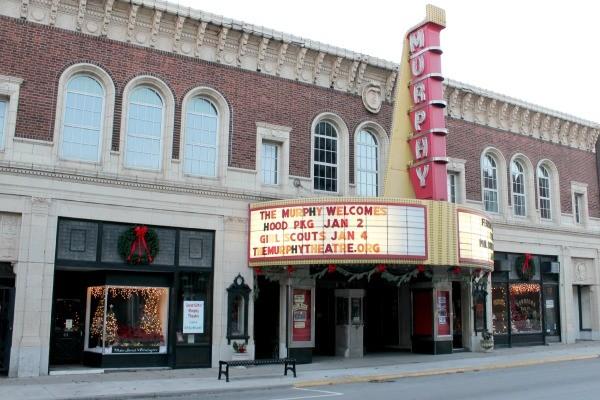 The historic Murphy Theater in Wilmington, Ohio.