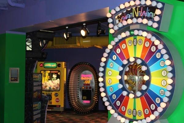 Arcade at Castaway Bay Indoor Waterpark in Sandusky