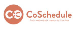 CoSchedule saves bloggers time and money with their editorial calendar and social media scheduling tool.