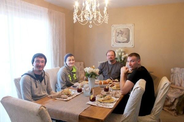 Easy spring celebration dinner