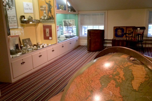 Inside the Follett House Museum which is owned by the Sandusky Public Library