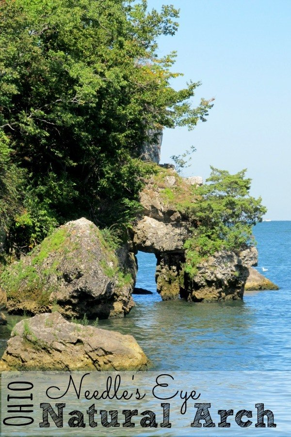 Needle's Eye is one of Ohio's Natural Arches.
