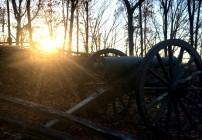 Sunset at Kennesaw Mountain National Battlefield