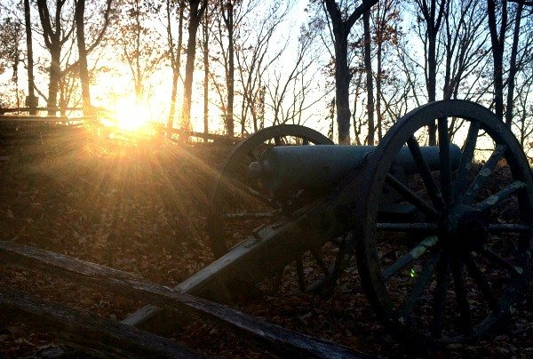 Sunset at Kennesaw Mountain National Battlefield