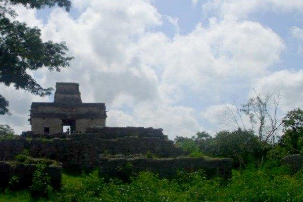 The Dzibilchaltun Mayan Ruins in Progresso, Mexico