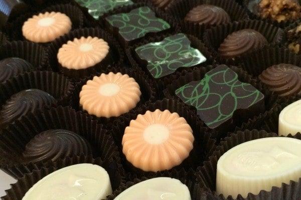 Tre Sorrelle Cioccolato in Sandusky, Ohio features premium chocolates.