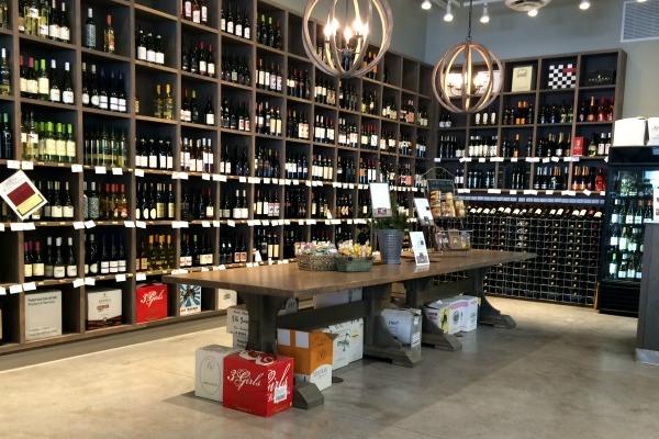 Vine & Olive Meditteranean store in Sandusky, Ohio.