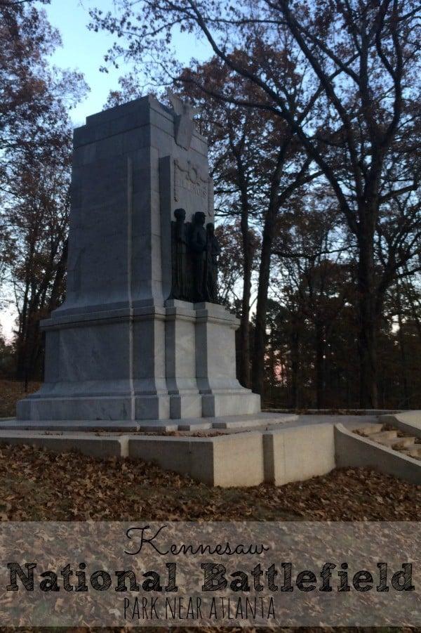 Visiting Kennesaw National Battlefield Park near Atlanta