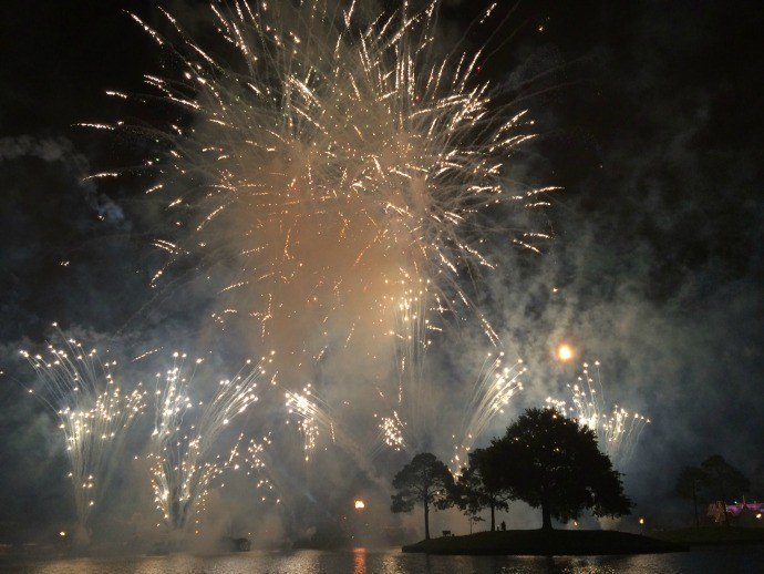Fireworks at Epcot- Say Yes to Memories when you go beyond basics