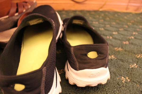 Stinky shoes in a hotel room can be bad news