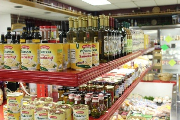 Inside Carle's Bratwurst in Bucyrus Ohio