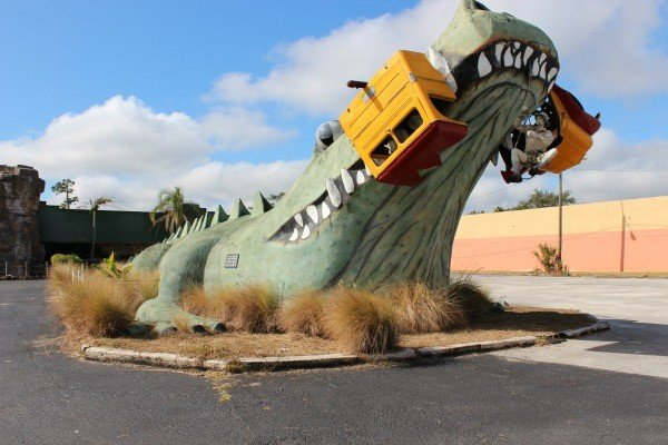 The World's Second Largest Gator is located in Kissimmee, Florida
