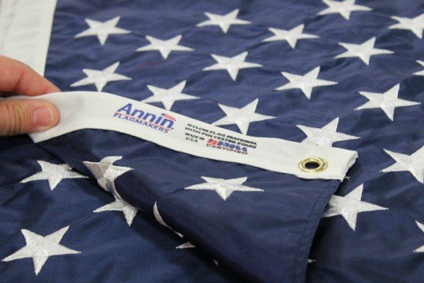 When you buy a flag, look for quality. Annin Flagmakers manufacture flags that are 100 made in the USA.