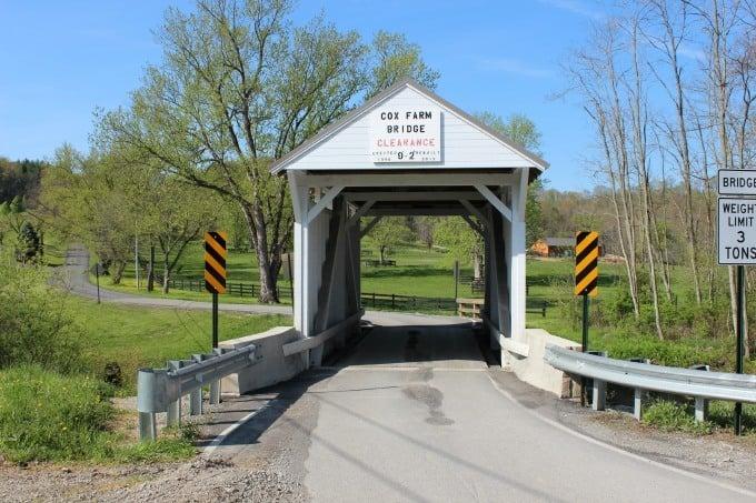 Cox Bridge in Greene County, Pennsylvania.