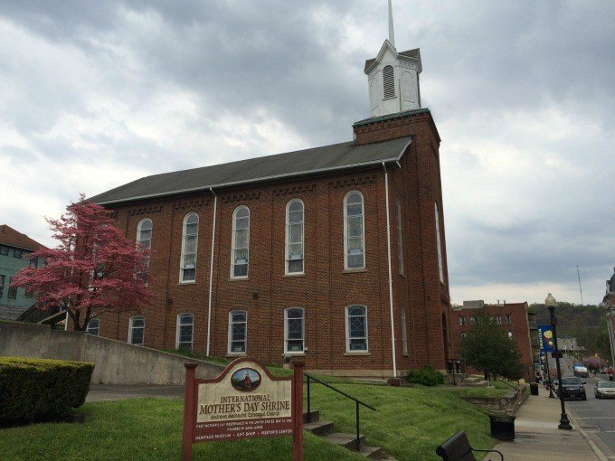 The International Mother's Day Shrine located in Grafton, West Virginia honors the memory of the founder of the holiday.