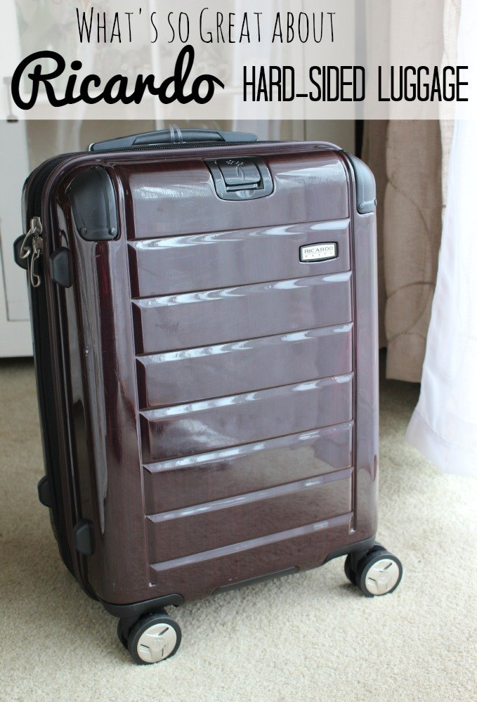 What's so great about Ricardo Hard-sided luggage