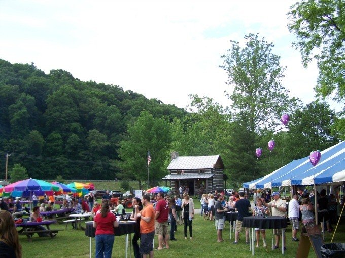 The International Wine at the Mill Fundraiser in Loudonville, Ohio on Saturday, June 6th to aid the Wolf Creek Grist Mill.