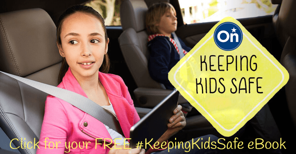 Keeping Kids Safe- a free e-book from OnStar teaching your kids how to be safe in a vehicle emergency