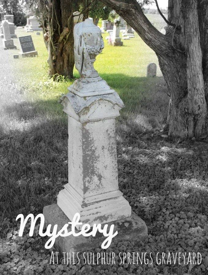 Mystery at this Sulphur Springs Graveyard