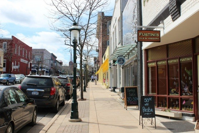 The Gaslight Shopping District in Petoskey, MI offers one of the best downtown shopping districts in the country.