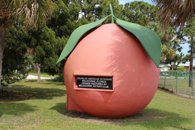 The Giant Orange of Melbourne, Florida