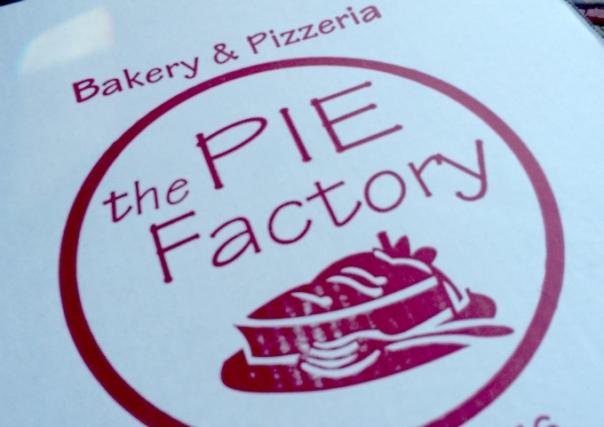 The Pie Factory & Bakery sells award winning pizza and delicious pies.
