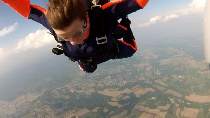 This isn't the last time I go skydiving. I'll be back for more.