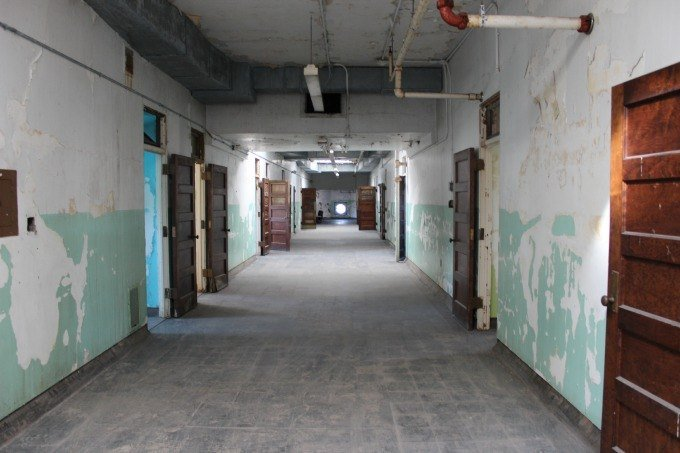 Inside the corridors of the Trans-Allegheny Insane Asylum