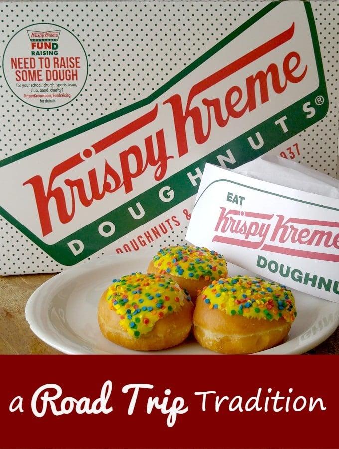 Krispy Kreme doughnuts a Road Trip Tradition