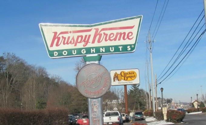 Krispy Kreme in Gatlinburg, Tennessee